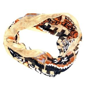 Accessories - Unique Aztec design scarf